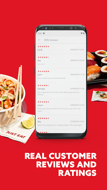 Just Eat - Takeaway delivery Screenshot